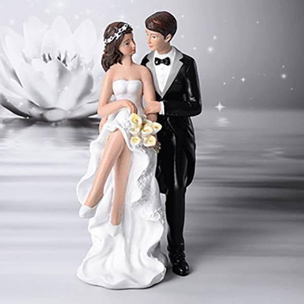 Sujet mariage élégant à fleurs