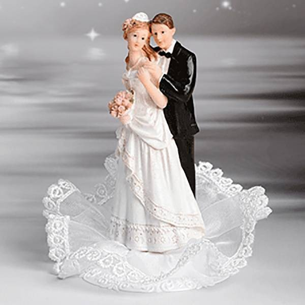 Sujet mariage volant et bouquet