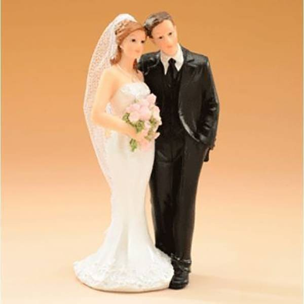 Sujet mariage bouquet - 14.5 cm