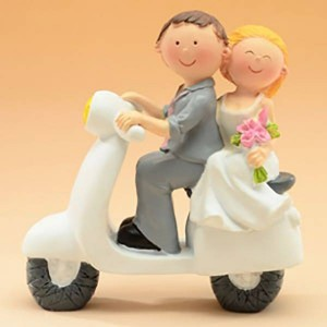 Sujet mariage en scooter