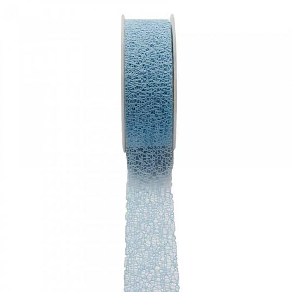 Ruban filet bleu 38mm