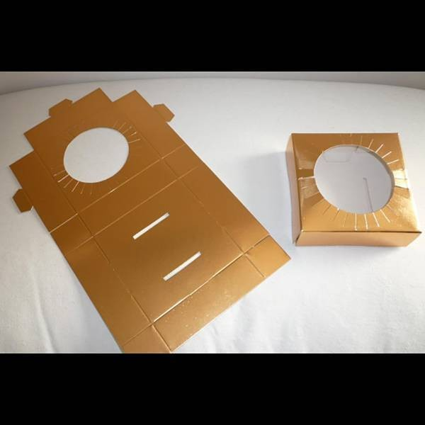 Calage boîte œuf n°7 - x25  - 12 cm