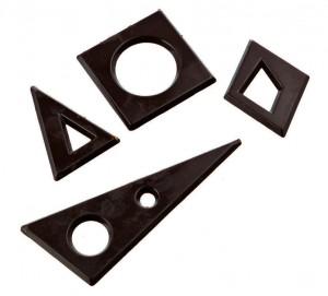 4 décors géométriques
