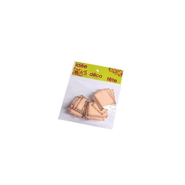 Étiquettes perforées biscuits