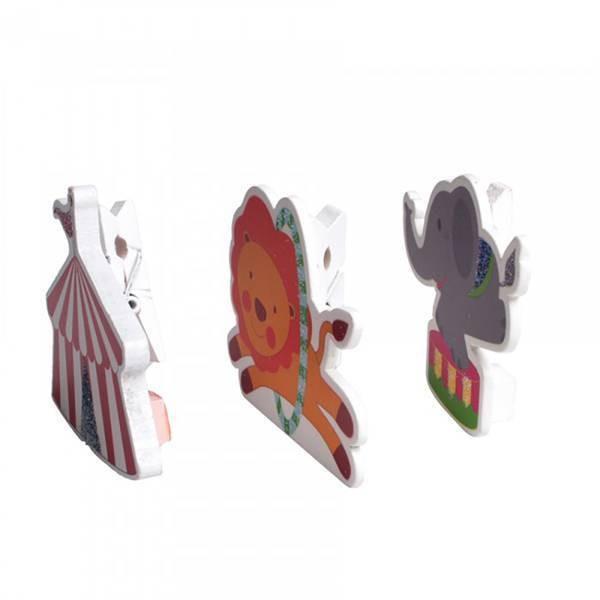 Porte carte cirque - 3 pièces