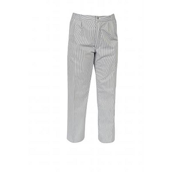 Pantalon Alizé rayé marine - T42