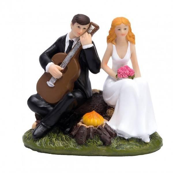 Sujet couple marié avec guitare
