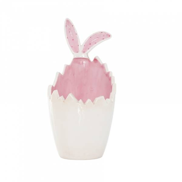 Coquetier rose lapin n°1