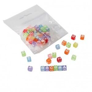 Lettre cube multicolore - x48