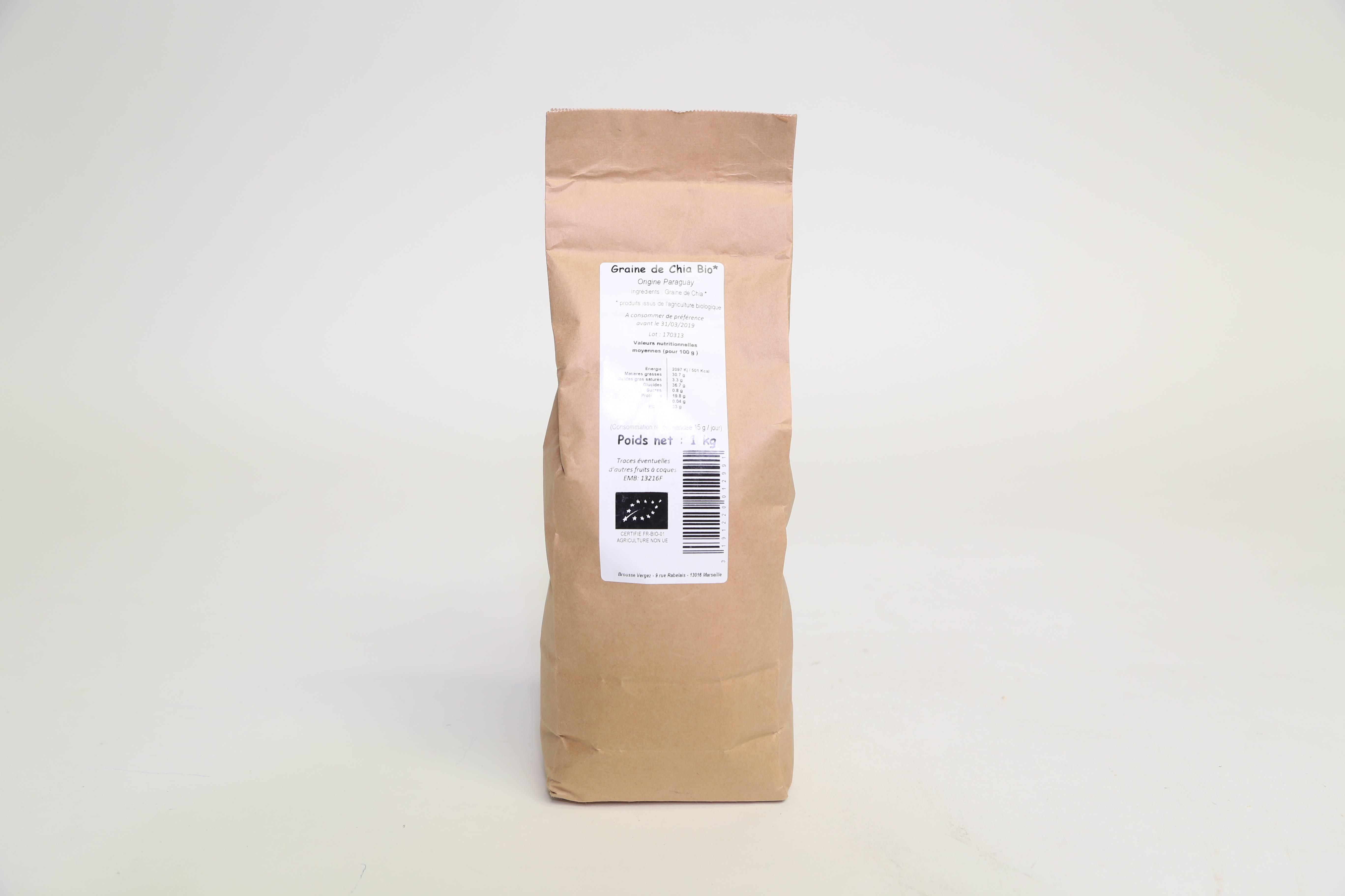 Graines de Chia -  1kg