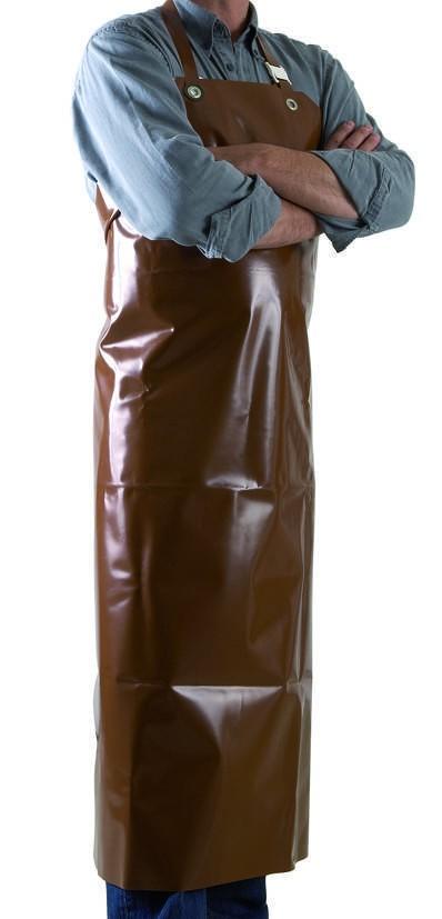 TABLIER CHOCOLAT 1150X900MM