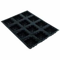 Moule à tartelettes carrées
