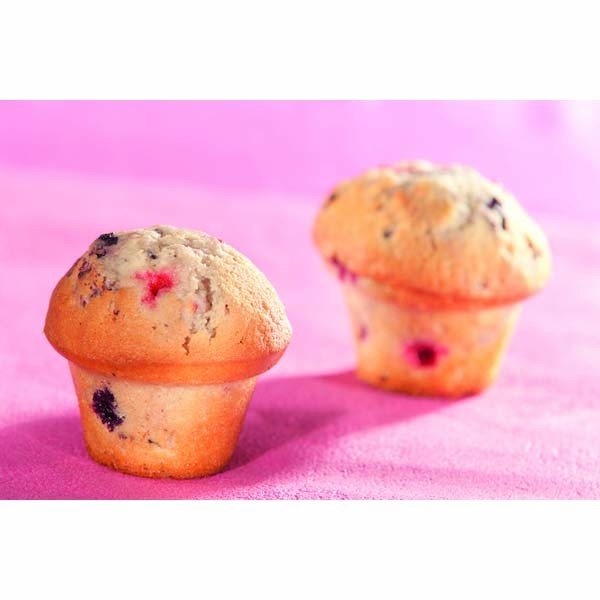 Moule muffins champignons