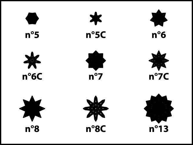 Douille étoile A  - A